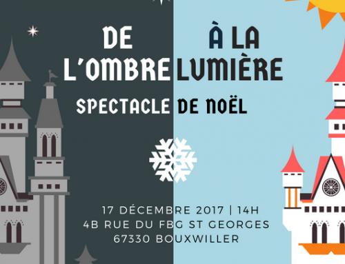 Spectacle de Noël: Dimanche 17.12.17